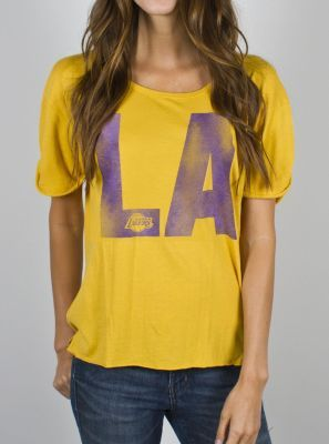 NBA Los Angeles Lakers Slam Dunk Tee - - Junk Food Clothing