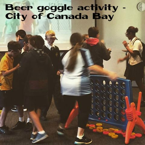 Beer goggle activity - City of Canada Bay Libraries - #knowyourstandards 2015