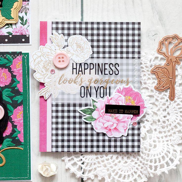 Spellbinders Card Kit January 2018 @akossakovskaya #cardmaking #SpellbindersClubKits #Spellbinders