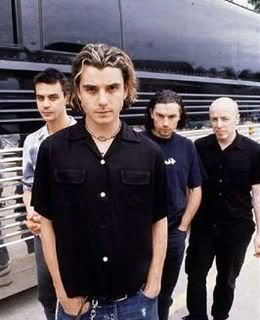 Bush - 'letting the cables sleep' // waaaahhhaha seeing Gavin Rossdale in Constantine was delicious! 'the chemicals between us' 'come down'