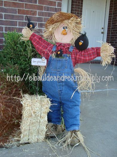7 best scarecrows images on Pinterest Scarecrows, Scarecrow ideas - halloween scarecrow ideas