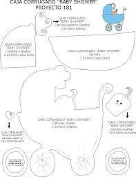Resultado de imagen de ideas de recuerdos para baby shower con moldes