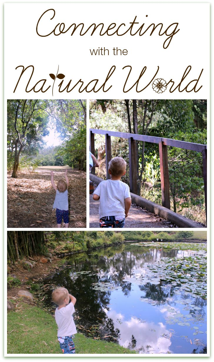 Connecting with the Natural World | children and nature - 30DaysTYP