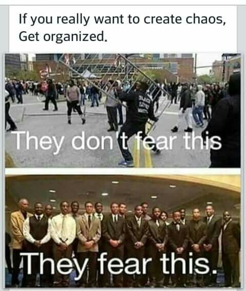 Yes !! Educated black people is what they fear!!!