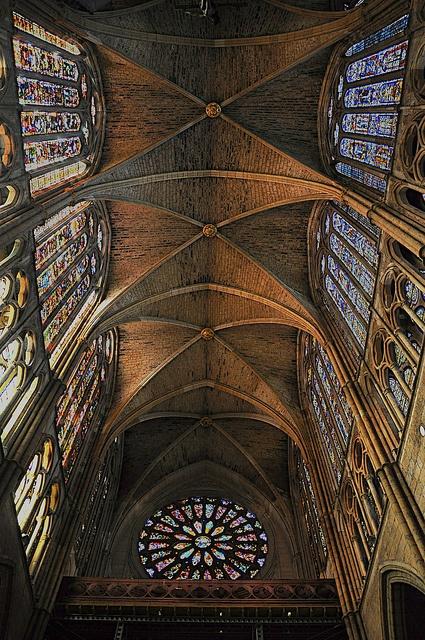 Vitralls espectaculars de la Catedral de León