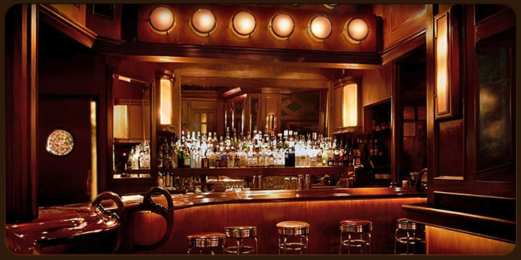 """""""Seductive NoHo favorite with a grand bar behind which cocktails are mixed with an expert hand"""" NY Magazine  http://www.templebarnyc.com/"""