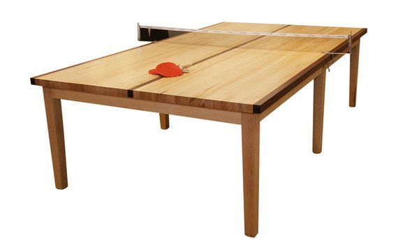Maple Table Tennis Table Tennis Dining Conference Game 2