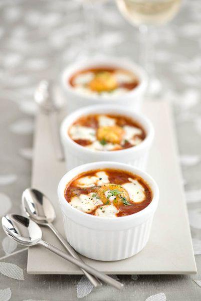 Baked Turkish Eggs With Yogurt & Chilli