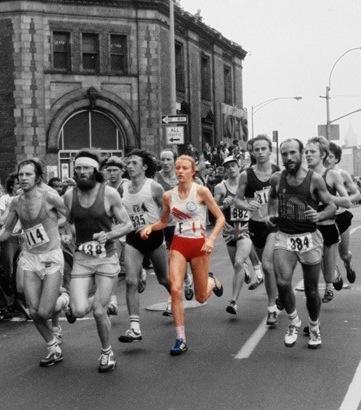One of the legends of the New York Marathon....Grete Waitz