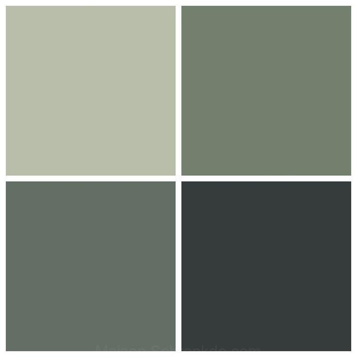 What A Beautiful Farrow Ball Palette To Work With Today For A Modern Take On A Country Kitc Living Room Green Farrow And Ball Living Room Kitchen Color Green