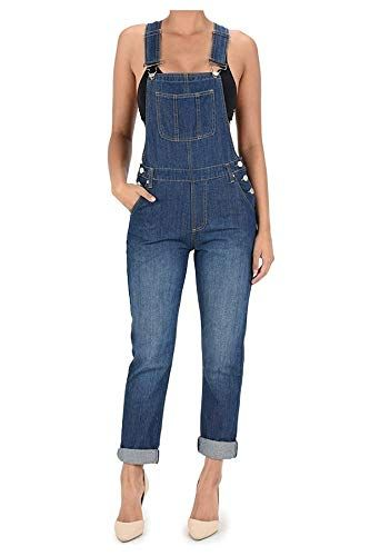 c32e5d09b75 The perfect TwiinSisters TwiinSisters Women s Basic Boyfriend Fit Denim Bib Overalls  Plus Women s Fashion Clothing online.   29.99 - 37.99  findanew from ...