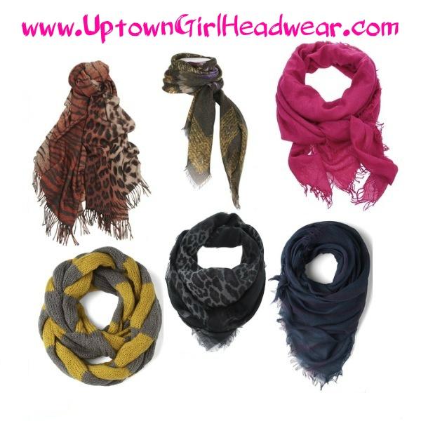 How to Tie a Scarf. www.UptownGirlHeadwear.com