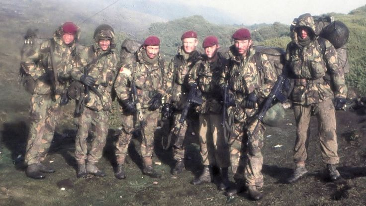 Regimental aid post falklands http://www.bbc.com/news/uk-17552437