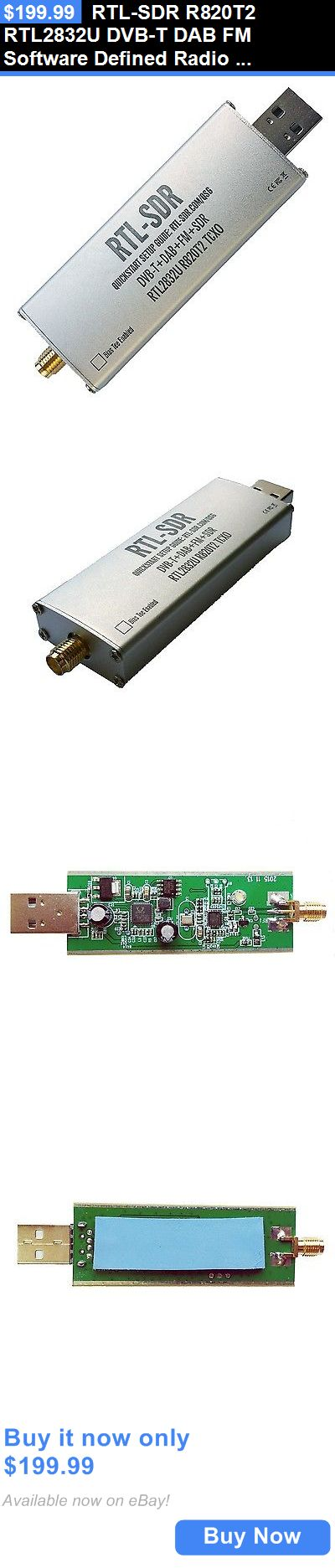 Ham Radio Receivers: Rtl-Sdr R820t2 Rtl2832u Dvb-T Dab Fm Software Defined Radio Scanner Usb Dongle BUY IT NOW ONLY: $199.99