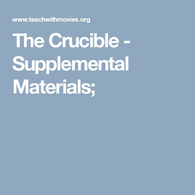 an analysis of innocence and madness in the crucible Motivations for the trials in the crucible in the crucible by arthur miller, the madness of the salem witch trials is explored in great detail.