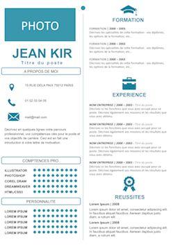 CV séduisant