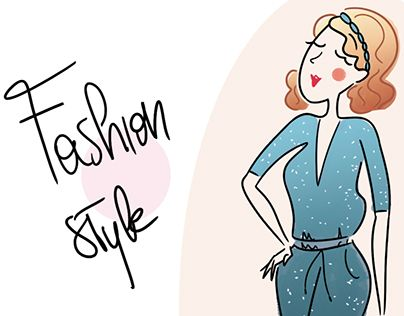 """Check out new work on my @Behance portfolio: """"Fashion Style"""" http://be.net/gallery/36349161/Fashion-Style"""