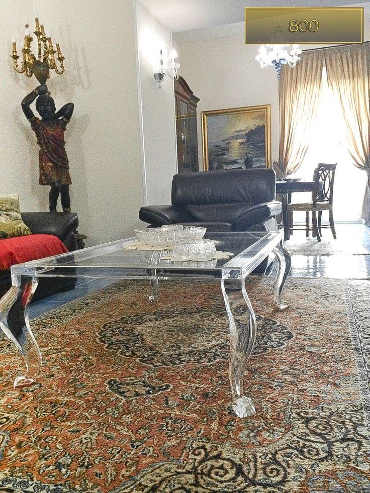 60 best acrylic coffee tables tavolini da salotto in - Tavolini plexiglass ...