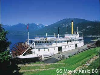 SS Moyie, Kaslo, BC   Home <3