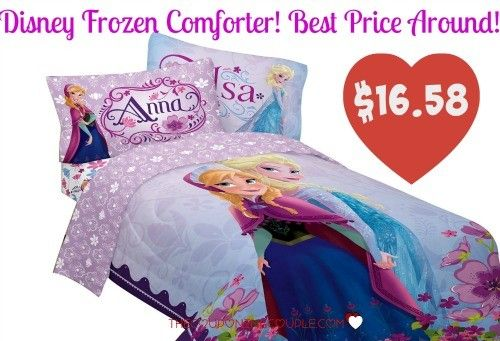 OOOOh!! The Disney Frozen Comforter is only $16.58! This is the best price it has been on Amazon! It may not at this price long so check it out now!  Click the link below to get all of the details ► http://www.thecouponingcouple.com/disney-frozen-comforter-only-16-58-lowest-price/  #Coupons #Couponing #CouponCommunity  Visit us at http://www.thecouponingcouple.com for more great posts!