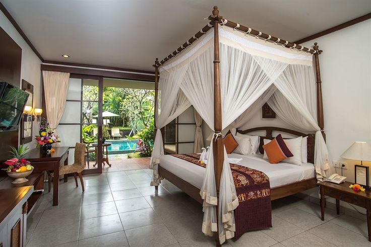 Kori Ubud Resort a 4 star resort. Located in Ubud, the room design is combination and balance of modern style with traditional Balinese architecture, only 4-minute drive from Bali's bustling cultural centre of Ubud. Perfect location that near to almost everything and yet, private enough to cut vacationers out from the hustle and bustle of the streets. 1 hour to the airport. http://www.zocko.com/z/JHe7I