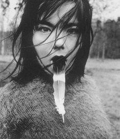 Bjork - Who, in my opinion, is possibly one of the most photogenic people in the world.