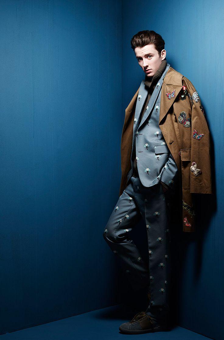 Matthew Beard by Rankin // the butterfly jacket still amazes me each time i see it