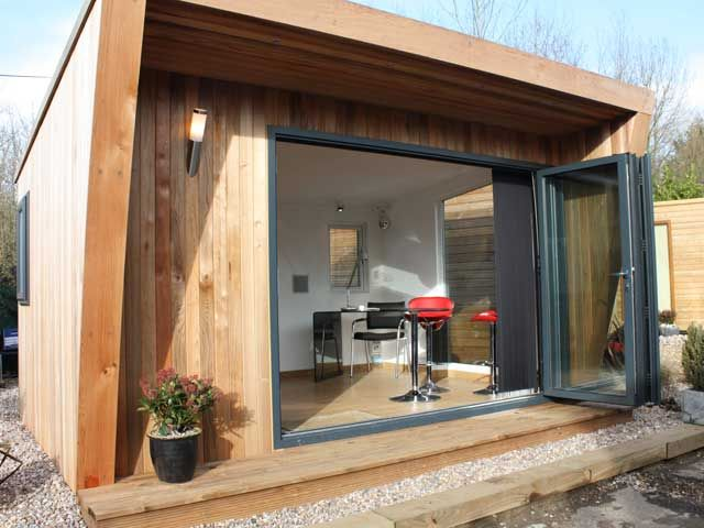 Pinnacle 4x3m showing open 3m bi-fold doors from £12995 inc VAT | Bahçe yapilari | Pinterest | Bi fold doors Gardens and Room & Pinnacle 4x3m showing open 3m bi-fold doors from £12995 inc VAT ... pezcame.com