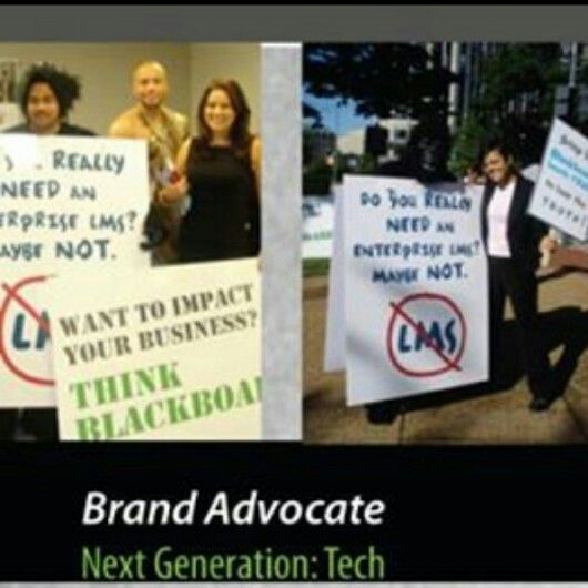 Educating software company BlackBoard LLC hired me as a Mascot in a Guerilla uniform for the marketing protest of EDU