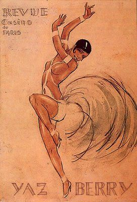 JOSEPHINE BAKER   (Natural Belle: vintage on we heart it / visual bookmark #6754739)