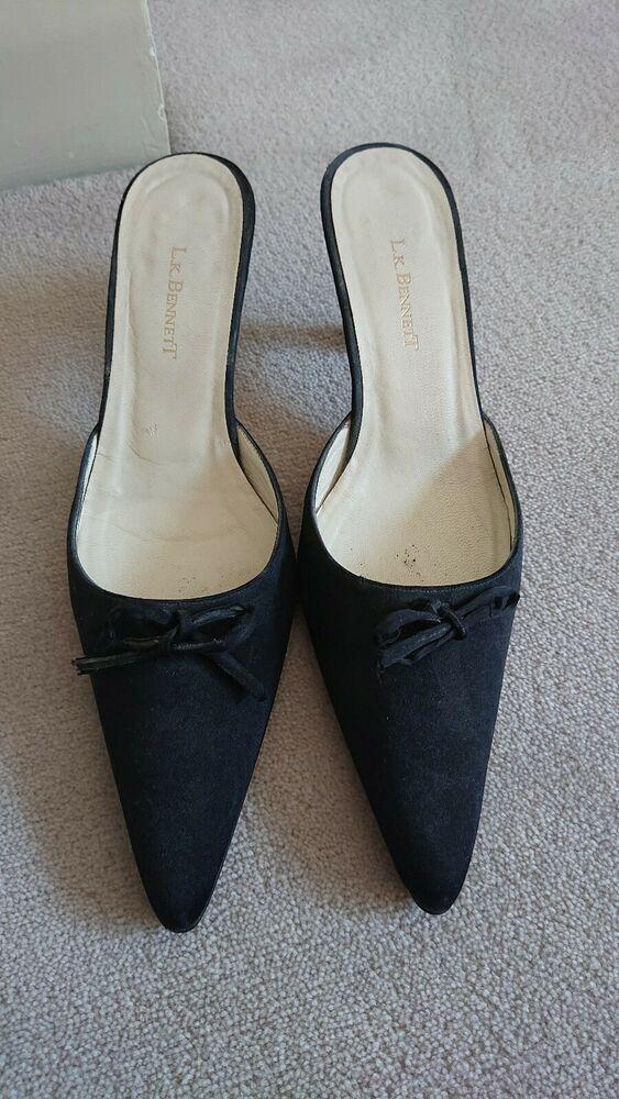 L K Bennett Backless Kitten Heels 40.5 Kitten Heels from