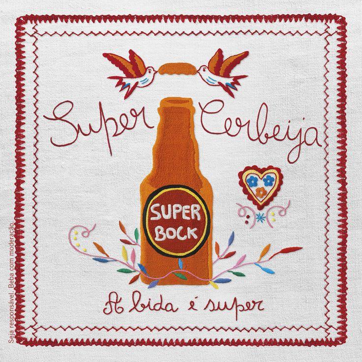 Super Bock, homenagem a Viana do castelo, lenço de Viana,