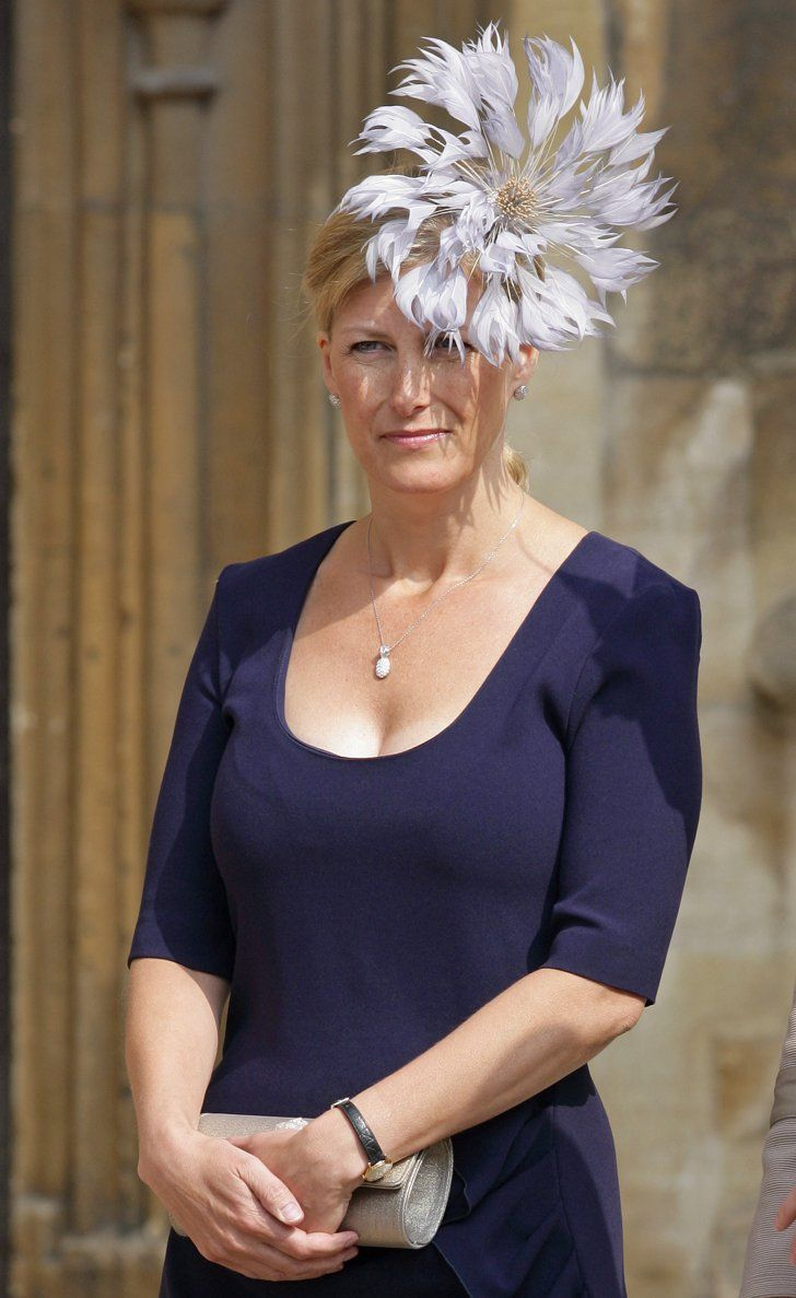 Pin for Later: The 34 Best Fascinators That Royalty Has Ever Worn  Sophie, Countess of Wessex, attended an Easter service in 2011 wearing a pale lilac fascinator that looked almost like a pinwheel.