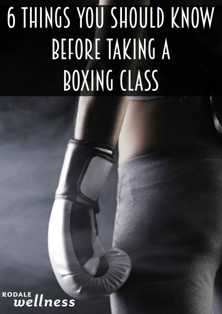 6 Things You Should Know Before Taking a Boxing Class - Read up before you lace up.