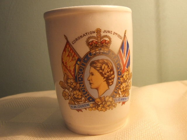 These used to be all the rage in Toronto - antique shaving mugs. Sold it, though!