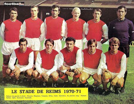 STADE DE REIMS 1970-71.