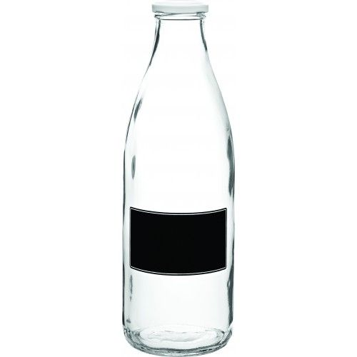 This lidded bottle with a blackboard design is another wedding favourite. Used for drinks, vases and even table names!