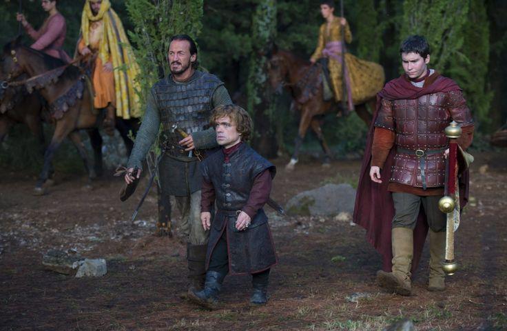Bronn, Tyrion and Podrick, Game of Thrones - Season 4 Episode 1