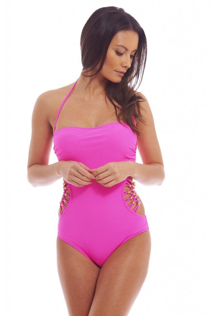 Luxusní sladce růžové plavky TFNC | Tamsin.cz - Značkové oblečení z Anglie