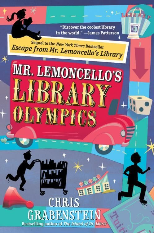 Download Ebook Mr. Lemoncello's Library Olympics (Chris Grabenstein) PDF, EPUB, MOBI