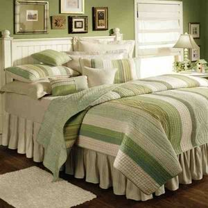 oversized king quilt modern vineyard dream style luxury bedding - Oversized King Comforter
