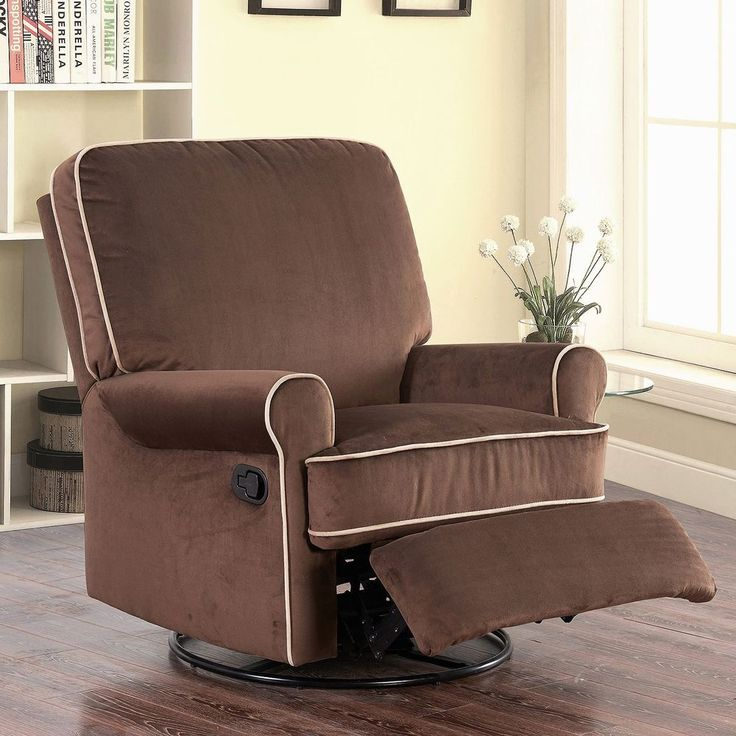 big comfy chair glider recliner easy chair coffee microsuede durable relax rest everything you need pinterest big comfy