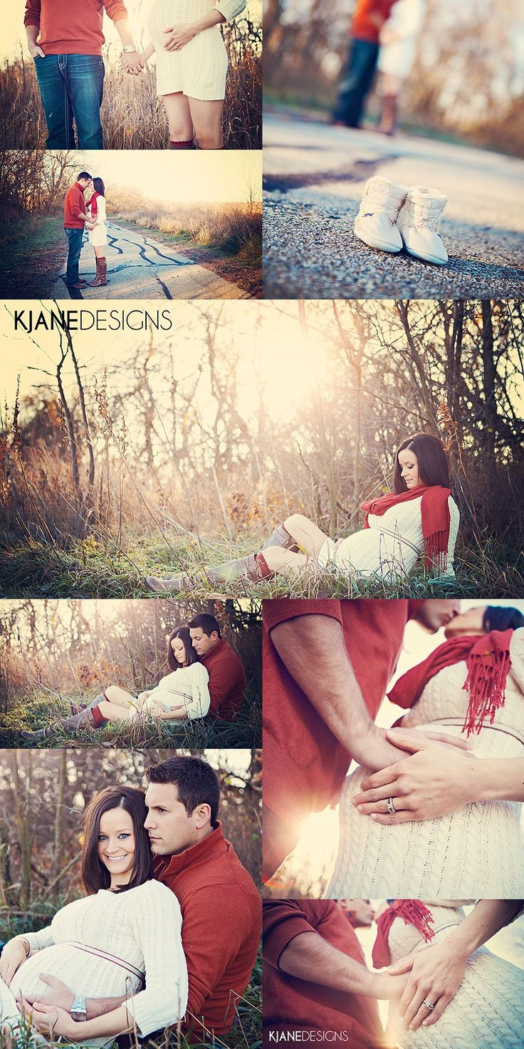 Maternity Photo Session, Outdoor Photography, Fall, Nature - www.kjanedesigns.com