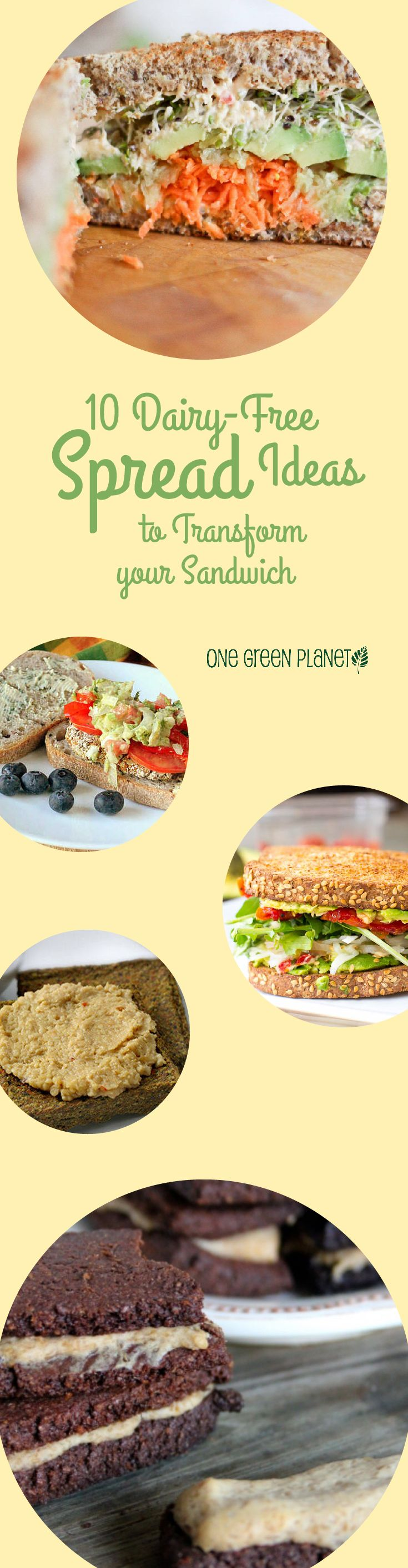 http://onegr.pl/13xNTkb #vegan #vegetarian #dairyfree #spreads #sandwich #lunch #recipes