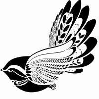 flying bird profile shot