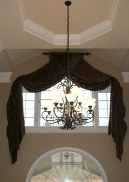Curtains Ideas curtains for half moon windows : 17 Best ideas about Half Window Curtains on Pinterest | Cafe ...