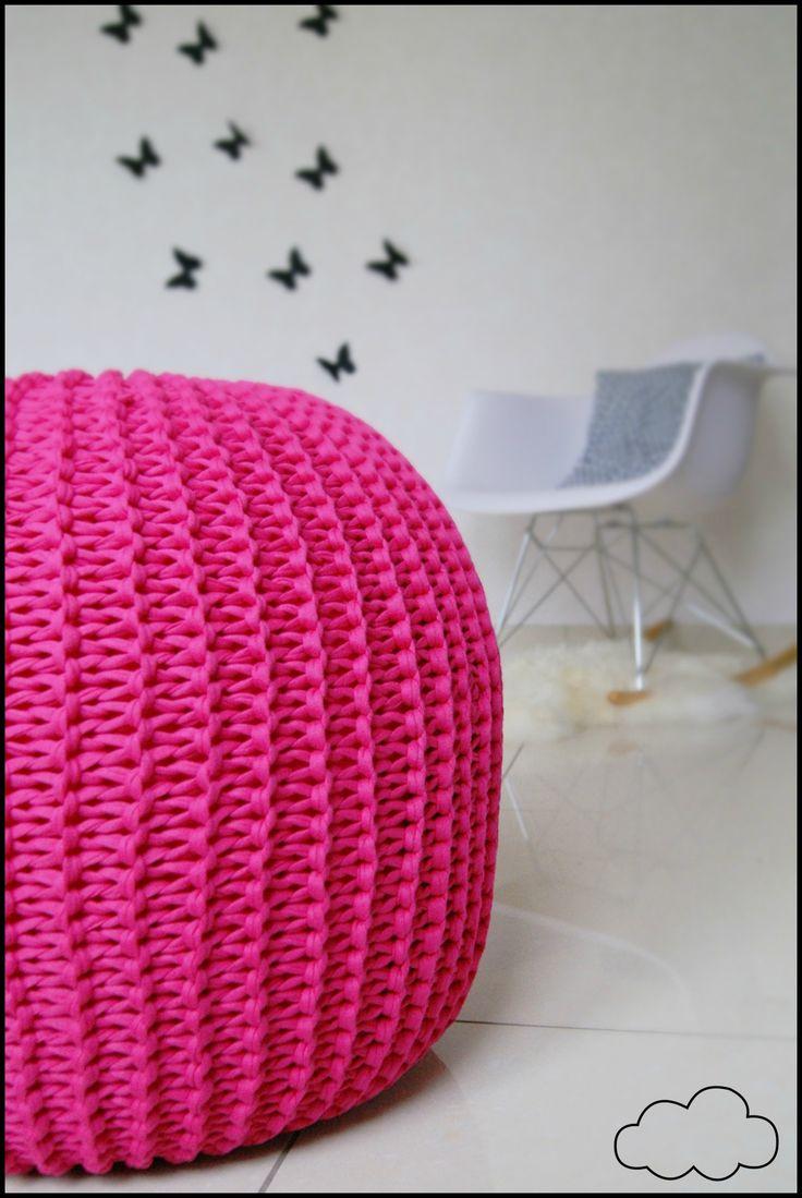 1000 id es sur le th me mod le de pouf en crochet sur. Black Bedroom Furniture Sets. Home Design Ideas