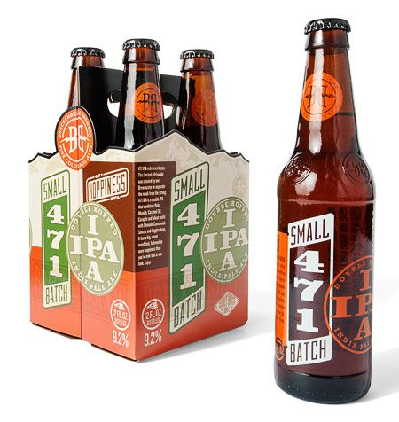Breckenridge Small Batch 471 IPA Designed by Cultivator Advertising & Design