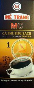 Вьетнамский МОЛОТЫЙ кофе (ME TRANG) - НОМЕР - 1 из города НЯЧАНГ - 250 гр. Пр-во Вьетнам.