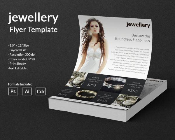 22 Jewelery Templates Designs Word Psd Eps Vector